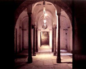 La cripta di Sansepolcro
