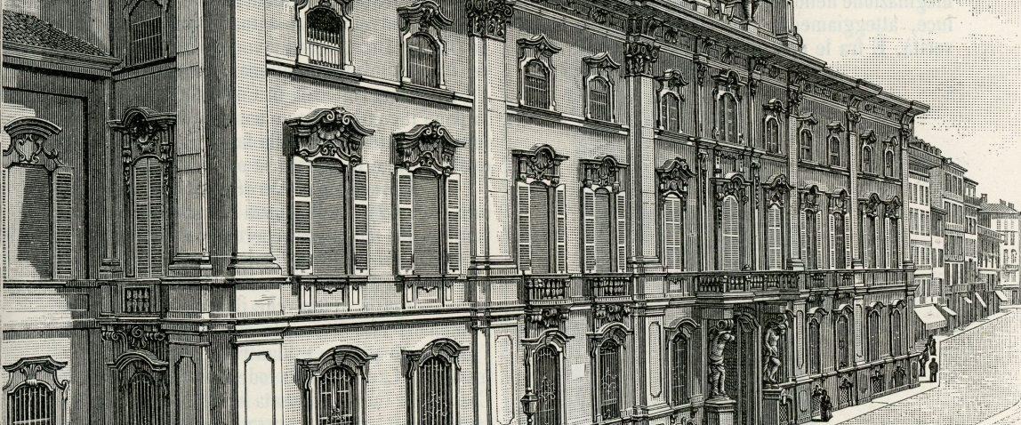 Ospiti degli Arese a Palazzo Litta