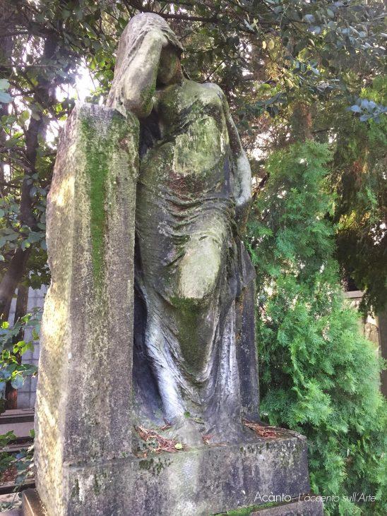 A Milano, sulle tracce di Thea Caslbore Rasini. Cimitero Monumentale. Tomba Casalbore