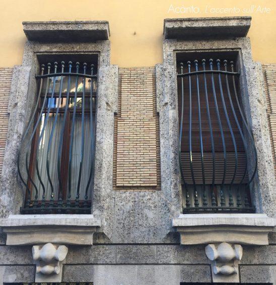 Villa Rasini. Dettaglio
