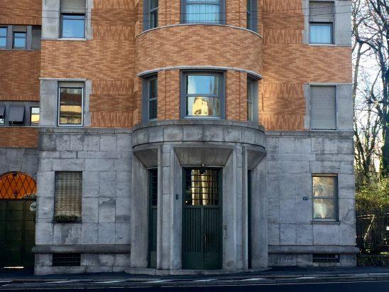 Casa Torre Rasini, ingresso
