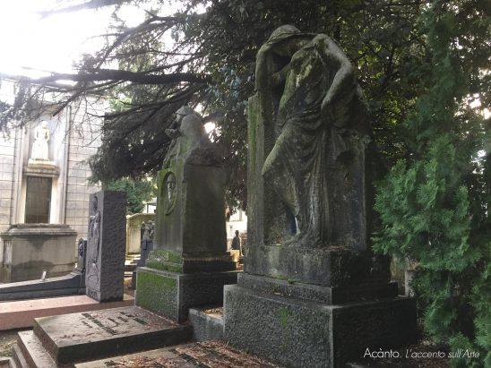 A Milano, sulle tracce di Thea Caslbore Rasini. Cimitero Monumentale. Tombe Vignoli e Casalbore