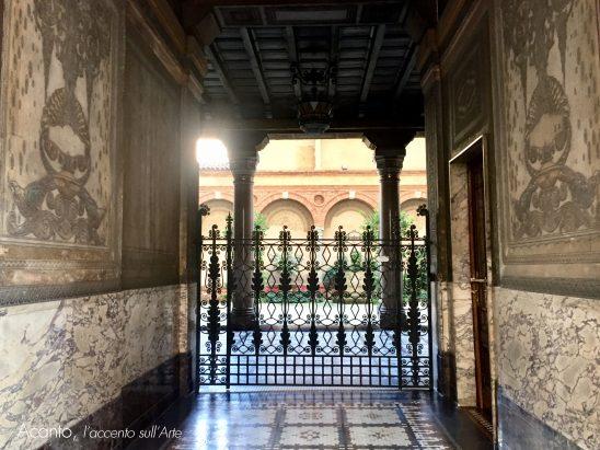 Casa Venegoni, il cortile